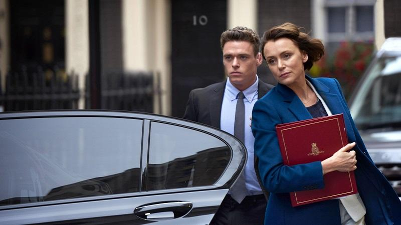 Keely Hawes in The Bodyguard
