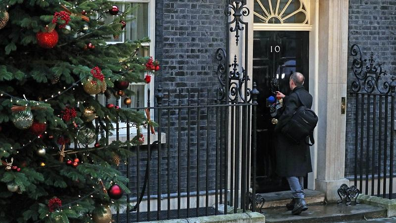 Dominic Cummings at Number 10
